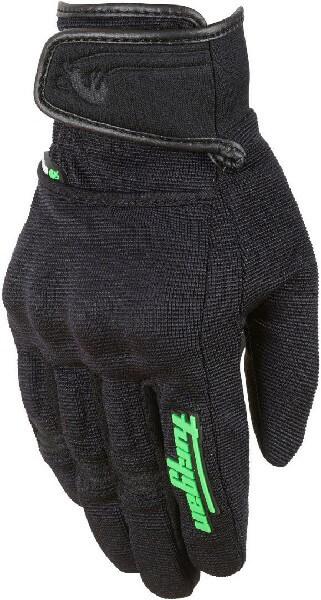 Furygan Jet Evo II Lady Black Fluorescent Green Riding Gloves