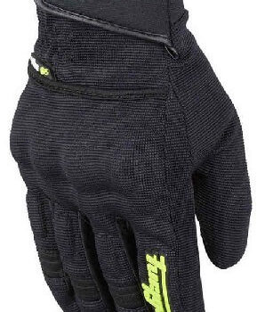 Furygan Jet Evo II Lady Black Fluorescent Yellow Riding Gloves