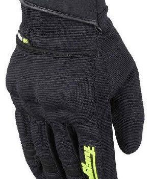 Furygan Jet Evo II Lady Black Fluorescent Yellow Riding Gloves