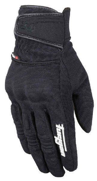 Furygan Jet Evo II Lady Black White Riding Gloves
