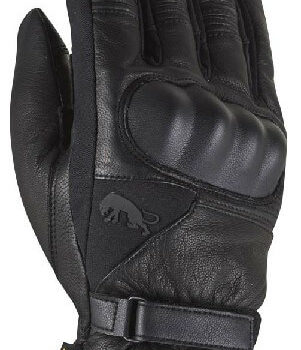 Furygan Midland D3O Black Riding Gloves