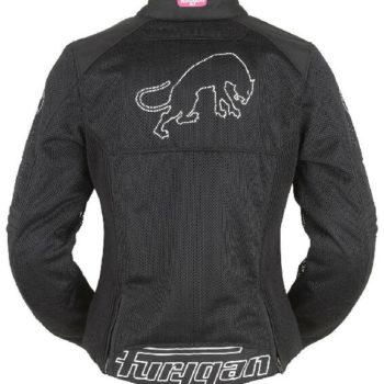 Furygan Pantha Lady Vented Black Pink Riding Jacket 1