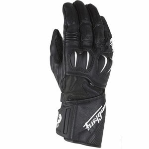 Furygan RG 18 Black White Riding Gloves
