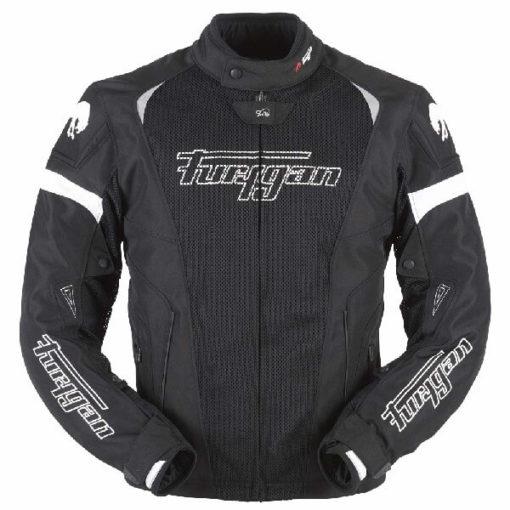 Furygan Spark 3 in 1 Black White Riding Jacket