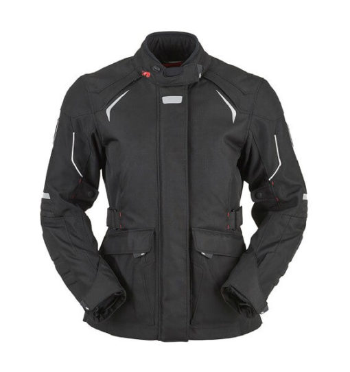 Furygan WL12 Waterproof Black Riding Jacket
