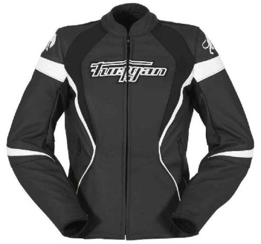 Furygan Xenia Black White Riding Jacket