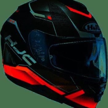 HJC IS 17 Loktar MC1 Matt Black Silver Orange
