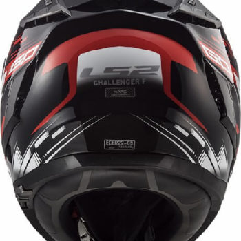 LS2 FF327 Challenger GP Matt Black Red Full Face Helmet 1