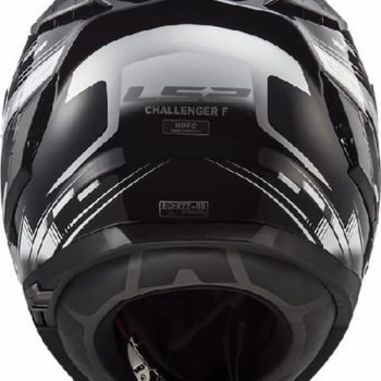 LS2 FF327 Challenger GP Matt Black White Full Face Helmet 1