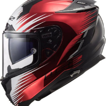 LS2 FF327 Challenger Magic Matt Black Windberry Full Face Helmet 2