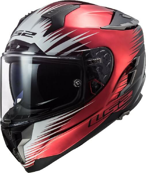 LS2 FF327 Challenger Magic Matt Black Windberry Full Face Helmet