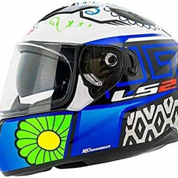 LS2 FF328 Stream Evo Couture Matt Black Blue Full Face Helmet
