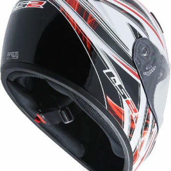 LS2 FF352 Blast Matt Black Red Full Face Helmet 1