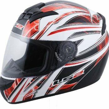LS2 FF352 Blast Matt Black Red Full Face Helmet