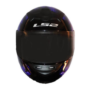 LS2 FF352 Chroma Gloss Black Blue Full Face Helmet1