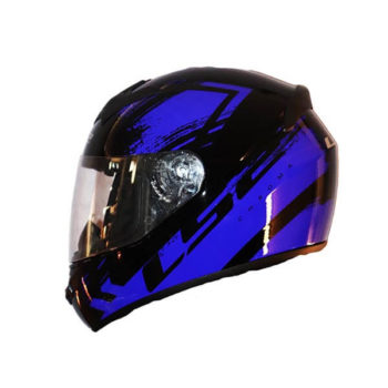 LS2 FF352 Chroma Gloss Black Blue Full Face Helmet2