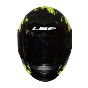 LS2 FF352 Chroma Gloss Black Fluroescent Yellow Full Face Helmet1
