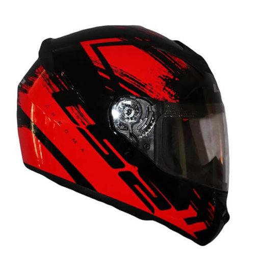LS2 FF352 Chroma Gloss Black Red Full Face Helmet