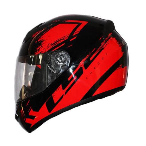 LS2 FF352 Chroma Gloss Black Red Full Face Helmet2