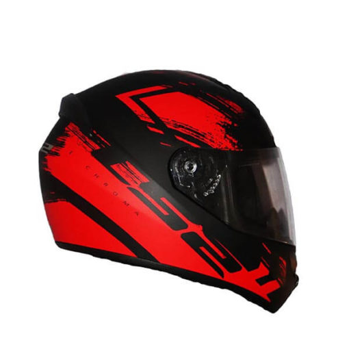 LS2 FF352 Chroma Matt Black Red Full Face Helmet