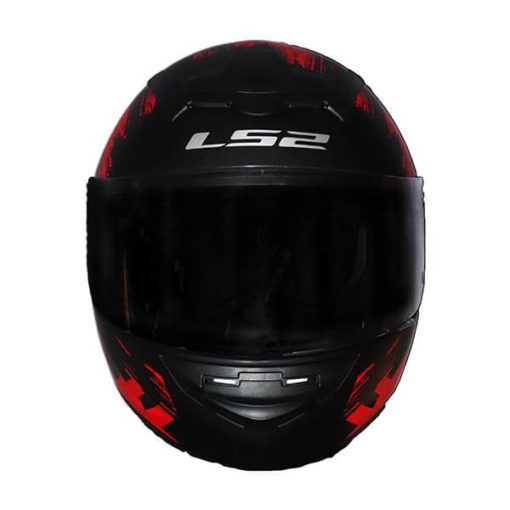 LS2 FF352 Chroma Matt Black Red Full Face Helmet1
