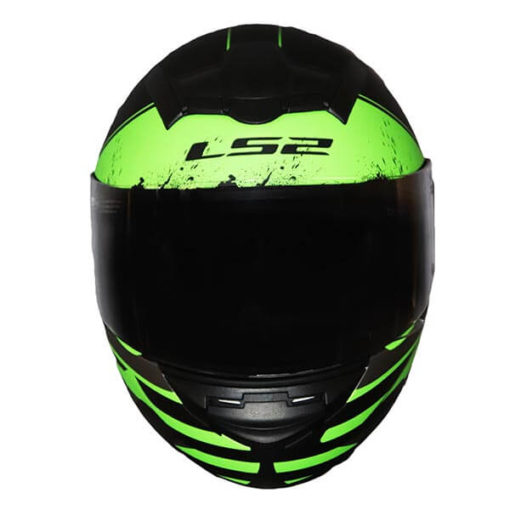 LS2 FF352 Combat Matt Black Grey Green Full Face Helmet 2019 1