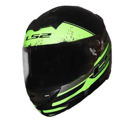 LS2 FF352 Combat Matt Black Grey Green Full Face Helmet 2019 2