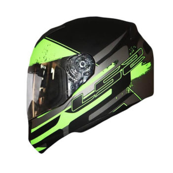 LS2 FF352 Combat Matt Black Grey Green Full Face Helmet 2019