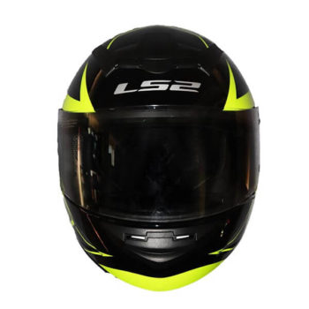 LS2 FF352 Lighter Gloss Black Fluorescent Yellow Full Face Helmet1