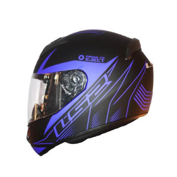 LS2 FF352 Lighter Matt Black Blue Full Face Helmet 2019