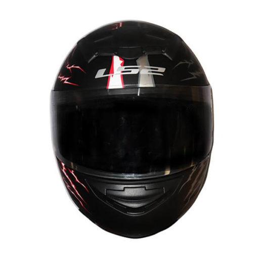 LS2 FF352 Magic Matt Black Grey Red Full Face Helmet 2019 1