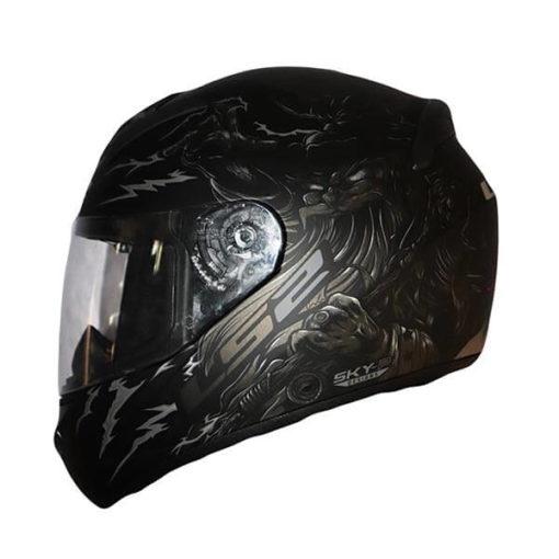 LS2 FF352 Magic Matt Black Grey Red Full Face Helmet 2019 2