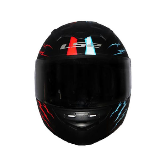 LS2 FF352 Magic Matt Blue Red Full Face Helmet 1