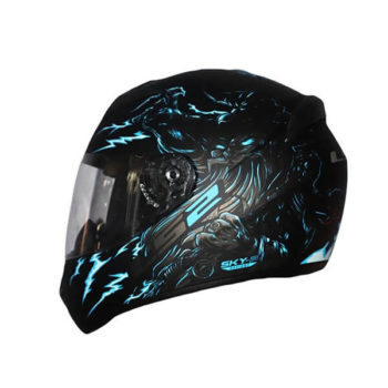 LS2 FF352 Magic Matt Blue Red Full Face Helmet