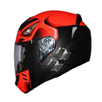 LS2 FF352 Stroke Matt Black Fluorescent Orange Full Face Helmet 1