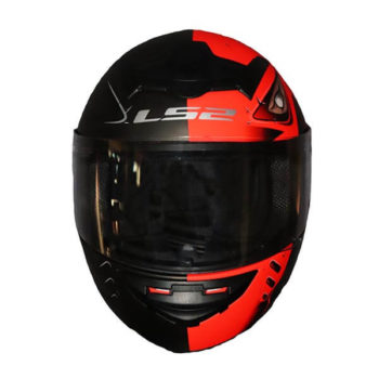 LS2 FF352 Stroke Matt Black Fluorescent Orange Full Face Helmet