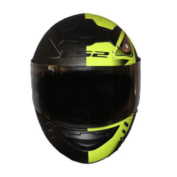 LS2 FF352 Stroke Matt Black Fluorescent Yellow Full Face Helmet 1