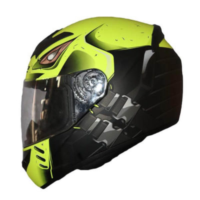 LS2 FF352 Stroke Matt Black Fluorescent Yellow Full Face Helmet