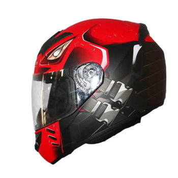 LS2 FF352 Stroke Matt Black Red Full Face Helmet