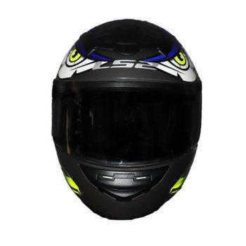 LS2 FF352 Tribal Matt Black Blue Full Face Helmet 2019 1