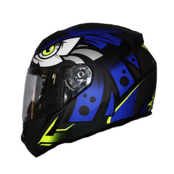 LS2 FF352 Tribal Matt Black Blue Full Face Helmet 2019 2