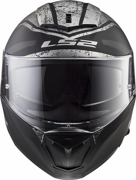 LS2 FF390 Breaker Bold Matt Black Titanium Full Face Helmet 2