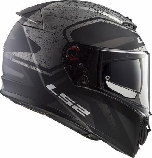 LS2 FF390 Breaker Bold Matt Black Titanium Full Face Helmet 3