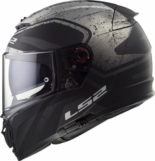LS2 FF390 Breaker Bold Matt Black Titanium Full Face Helmet