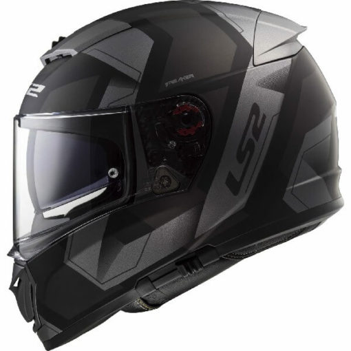 LS2 FF390 Breaker Physics Matt Black Titanium Full Face Helmet