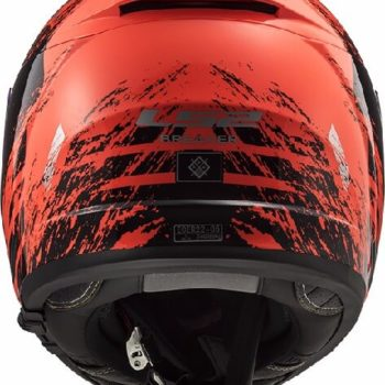 LS2 FF390 Breaker Swat Matt Fluorescent Orange Black Full Face Helmet 1