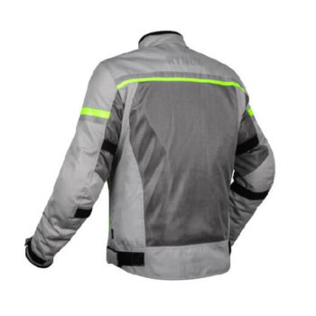Rynox Air GT 3 Dark Grey Hi Viz Green Riding Jacket 1