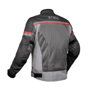 Rynox Air GT 3 Dark Grey Red Riding Jacket 1