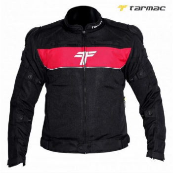 Tarmac One III Black Red Riding Jacket