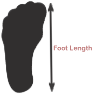 sizechart Foot length